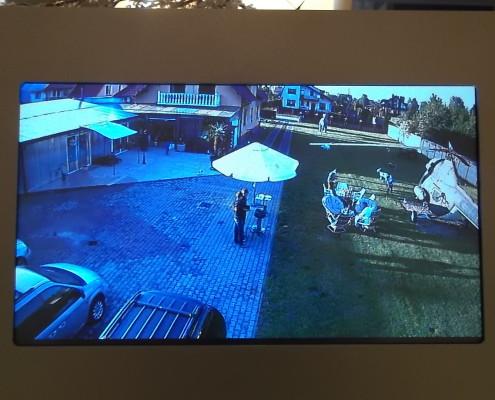 Panel wewnetrzny Derso H5 - podglad obrazu z kamery