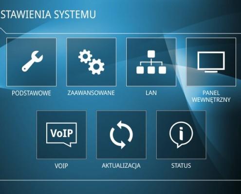Panel wewnętrzny wideodomofonu IP Derso